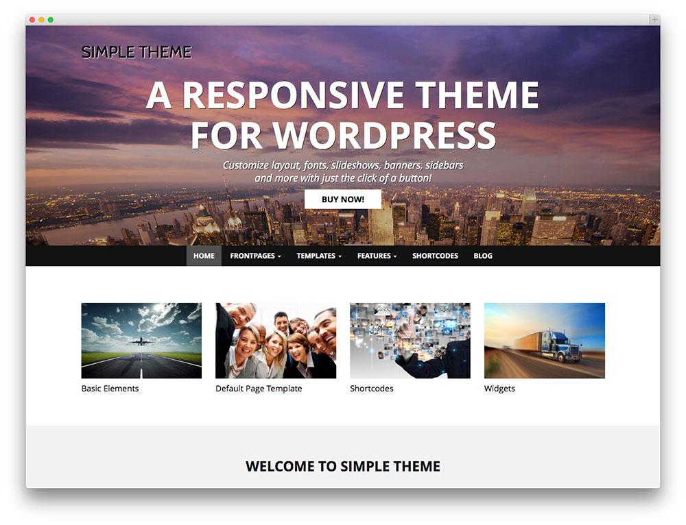 Best Wordpress Themes In The World For FaisalWeb - Buy wordpress templates