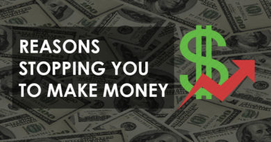 reason stops you from making money
