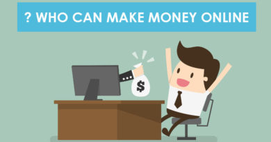 who can make money online ?