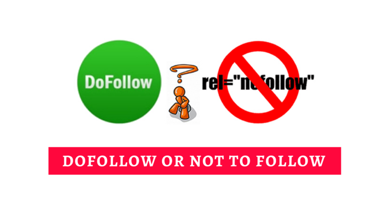 dofollow or nofolloe links