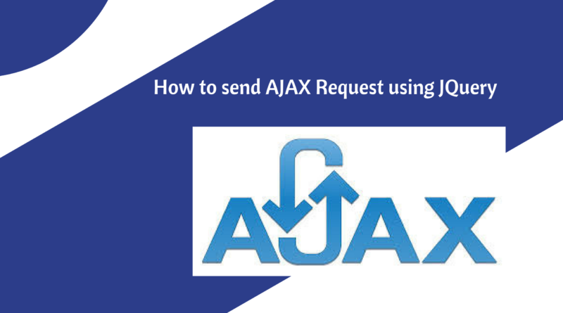how to send ajax request using jquery