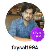 Faysal Imtiaz Fiverr Profile